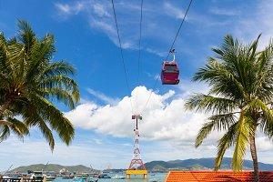 Vinperal Cable Car, Nha Trang, Vietn