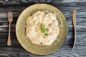 delicious italian ravioli with ricot