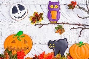 Halloween cookies assortment