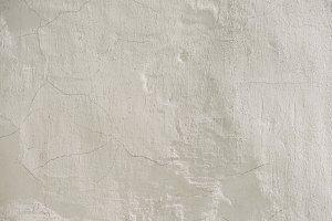 full frame image of cracked white wa