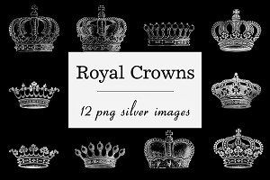 Silver Crown Clipart