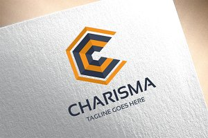 Letter C - Charisma Logo