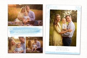 Christmas Card Template CC0151
