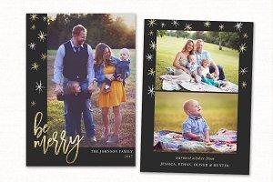 Christmas Card Template CC0153