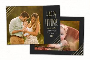 Christmas Card Template CC0155