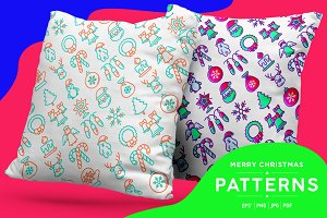 Merry Christmas Patterns Collection