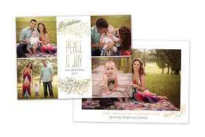 Christmas Card Template CC0160