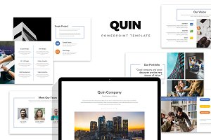 Quin : Company Powerpoint Template