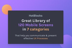 HotBlocks - Mobile Flowcharts UI Kit