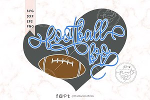 Football bro SVG DXF EPS PNG