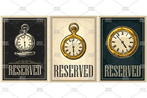Sign reservation with watch