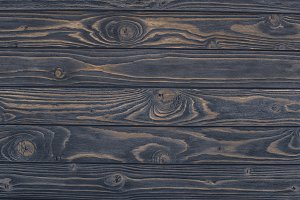 top view of dark grunge wooden backg