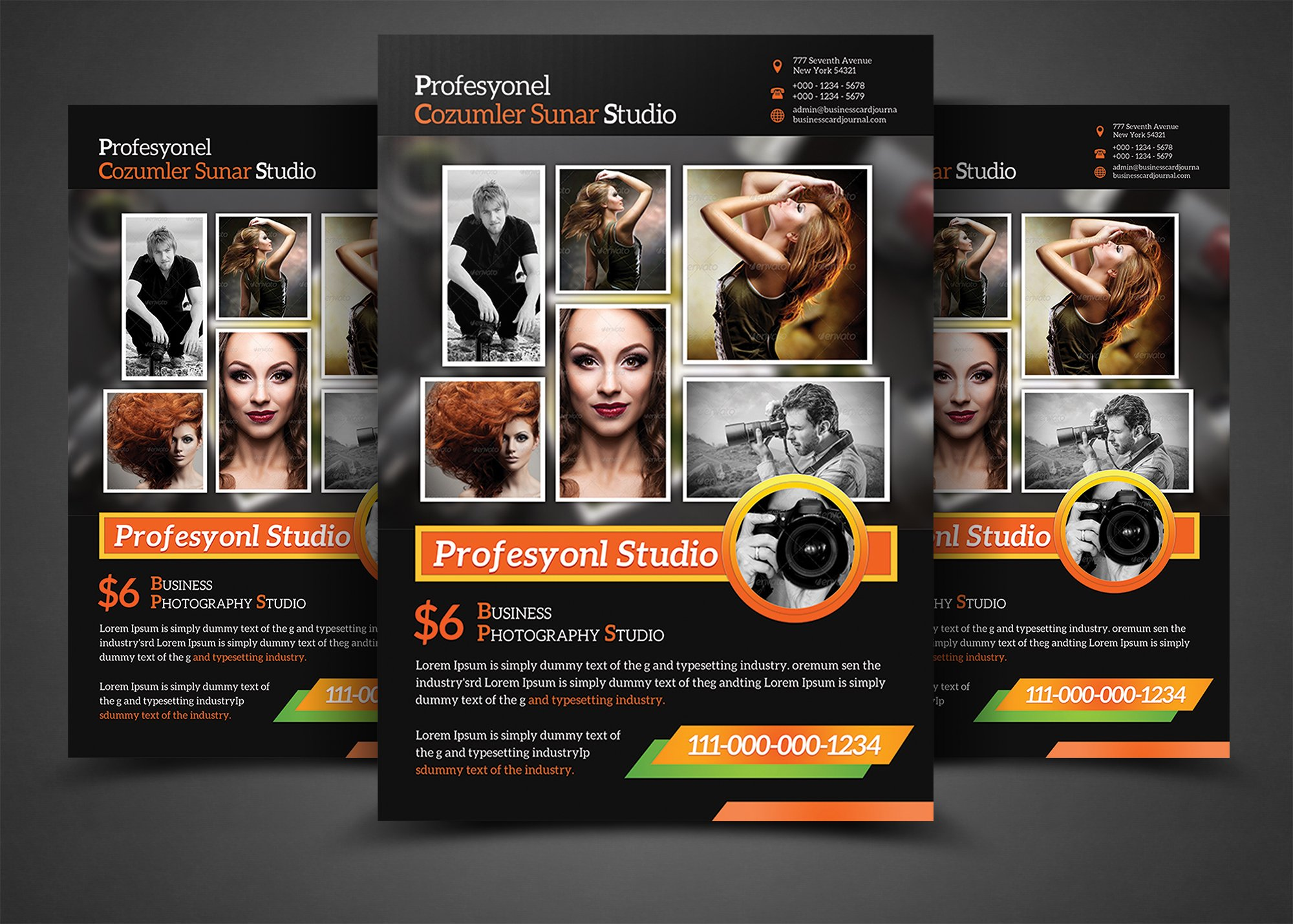 photography business flyer templates flyer templates creative market