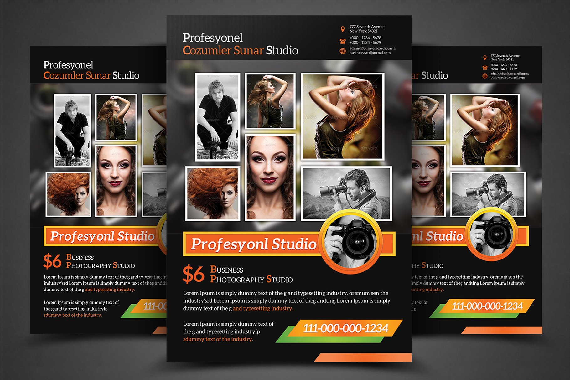 Photography business flyer templates flyer templates creative previous wajeb Image collections