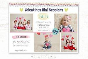 Valentines Mini Session Template