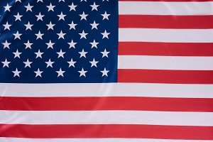 close-up shot of united states flag,