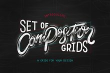 Composition grids for Lettering.  by  in Brushes