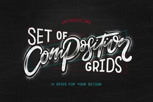 Composition grids for Lettering.