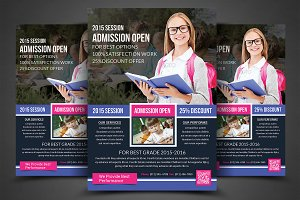 School Education Flyers Templates