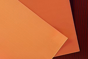 top view of arranged colorful paper
