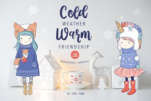 Cold weather, Warm friendship