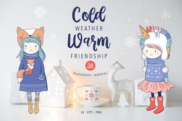 Cold weather, Warm friendship