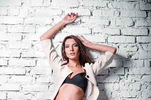 Fashion: beautiful sexy young woman