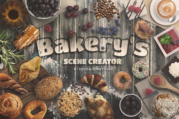 Bakery Scene Creator Top View