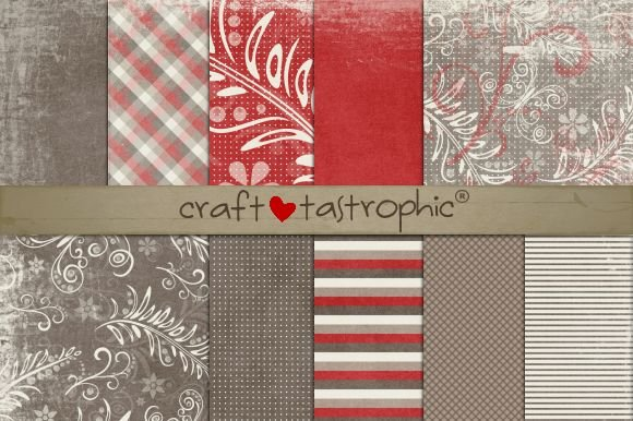 Cherry Mocha Vol. 2 Paper Pack - Patterns