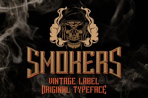 Smokers typeface