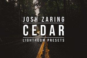 CEDAR LIGHTROOM PRESETS