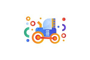 Tractor, heavy agricultural
