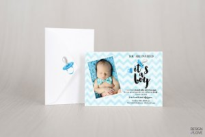Baby Shower Invitation It is a BOY!