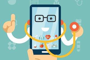 Mobile health care and medicine