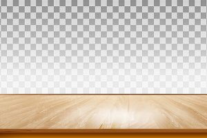 Wooden floor texture. Vector