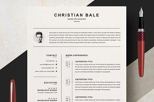 CV / Resume Template | MS Word