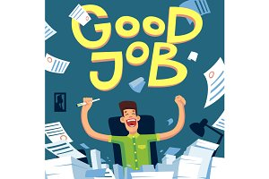 Good Job illustration #1