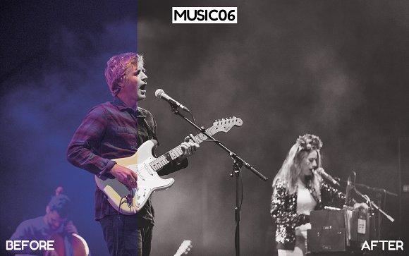 Live Music & Concert Blogger Presets