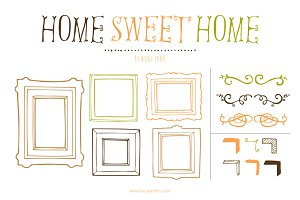 Home Sweet Home (Clipart)
