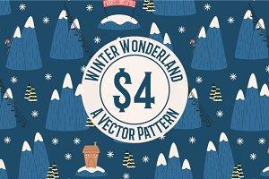 Winter Wonderland Repeat Pattern