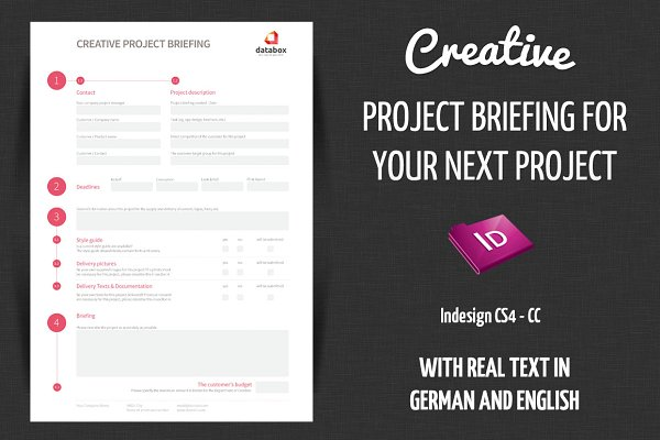 Creative Project Briefing