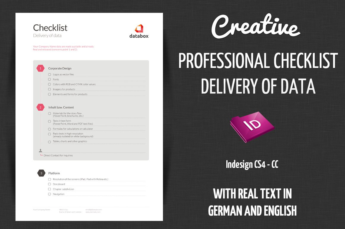 checklist delivery creative data stationery templates creative market