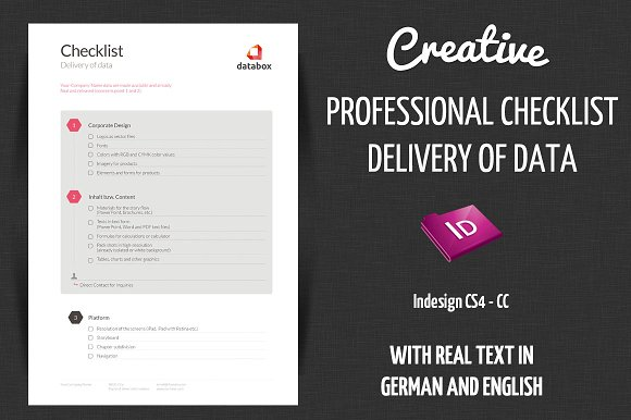 checklist delivery creative data stationery templates creative