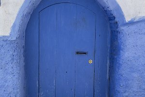 Chaouen the blue city in Morocco