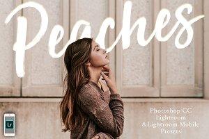 PS+LR Presets - Peaches