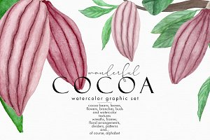 Wonderful Cocoa - Watercolor Set