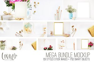 Bundle Mockups Styled Stationery