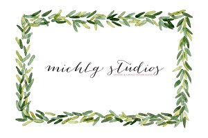 22 watercolor holiday graphics