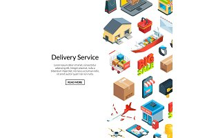 Vector isometric logistics and
