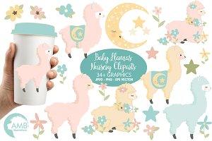 Llama Baby Clipart AMB-2266